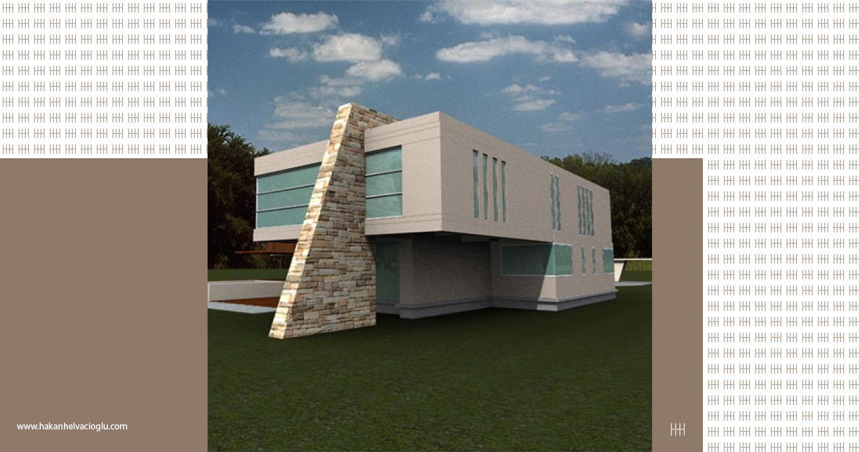 50's - 60's 3D Bilkent Ankara