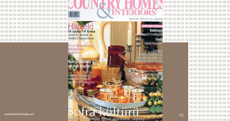 Country Homes amp Interiors Ocak