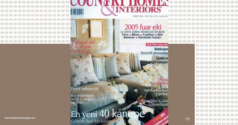Country Homes amp Interiors Şubat