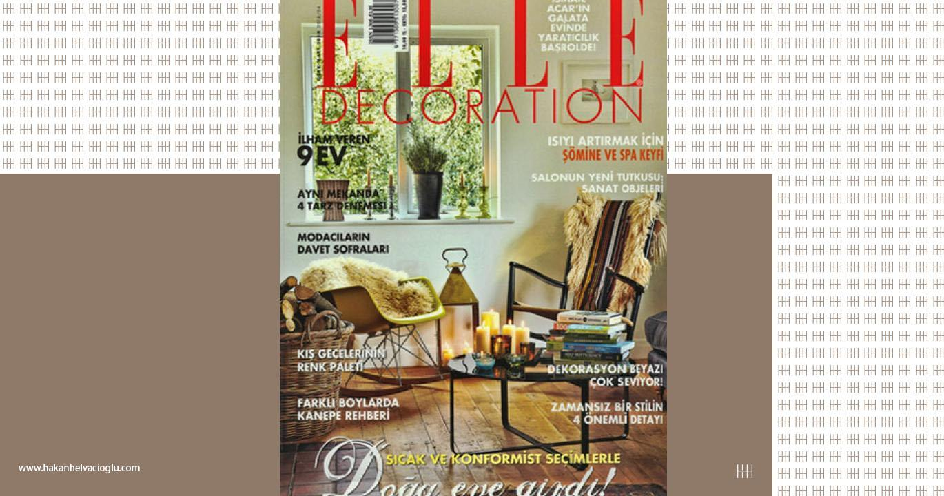 Elle Decoration Ocak