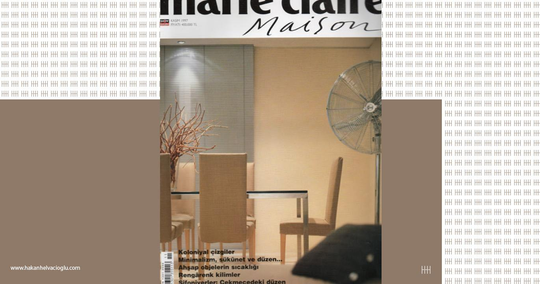Marie Claire Maison Kasım